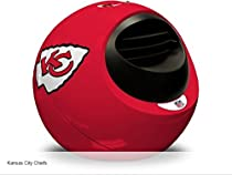 Helmet Heater CLKCCHIEFS NFL Kansas City Cheifs Portable Infrared Indoor Helmet Space Heater, KC Chiefs-RED