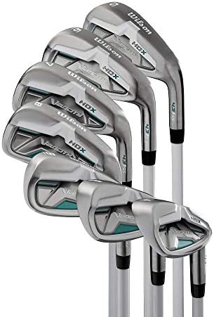 Wilson Velocity HDX Women Right Hand Stiff Flex Graphite Iron 5-PW SW Golf Set