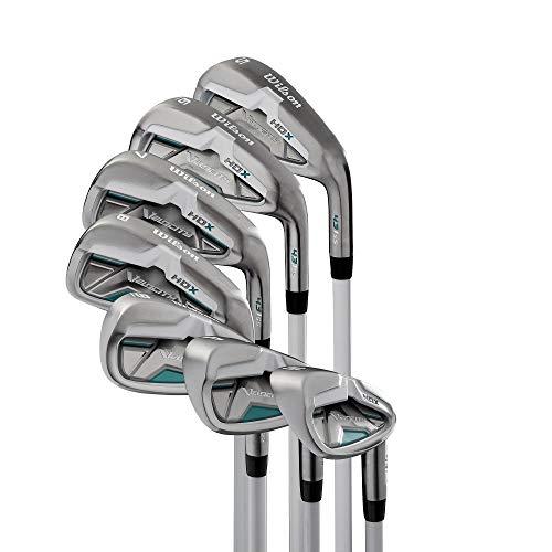 Wilson Velocity HDX Women Right Hand Stiff Flex Graphite Iron 5-PW+SW Golf Set