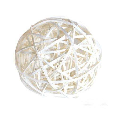 SeedWorld Party DIY Decorations - 4pics 6/7/8CM Colorful Rattan Sepak Takraw DIY Rattan Ball Home Garden/Birthday/Wedding Party Decoration Supplies Kids Gifts 1 PCs from SeedWorld