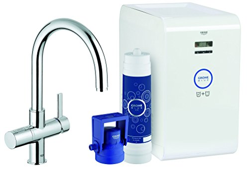 grohe blue chilled sparkling kitchen faucet water system. Black Bedroom Furniture Sets. Home Design Ideas