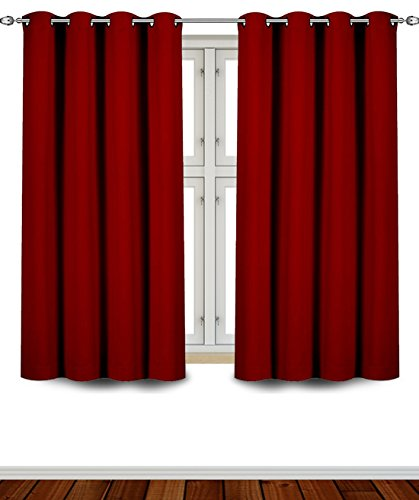 Utopia Bedding Insulated Blackout Curtains