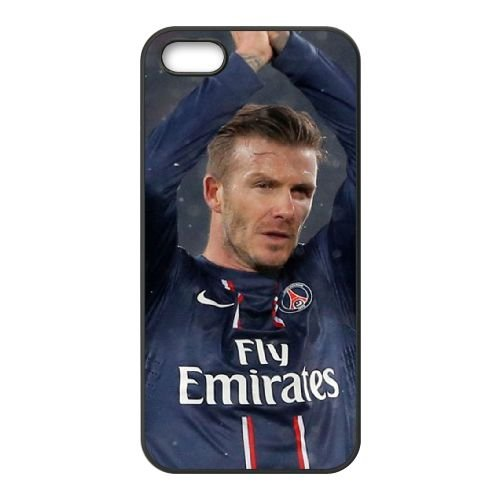 David Beckham coque iPhone 4 4S cellulaire cas coque de téléphone cas téléphone cellulaire noir couvercle EEEXLKNBC24438