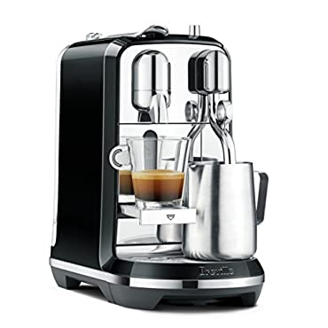 Breville Creatista Nespresso Automatic Coffee and Espresso Machine, Black (BNE600SLQUSC)