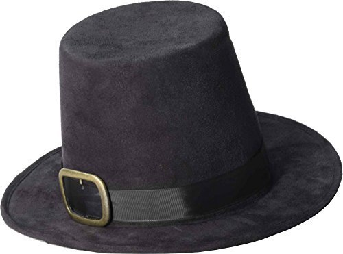Forum Novelties Pilgrim Thanksgiving Hat - One