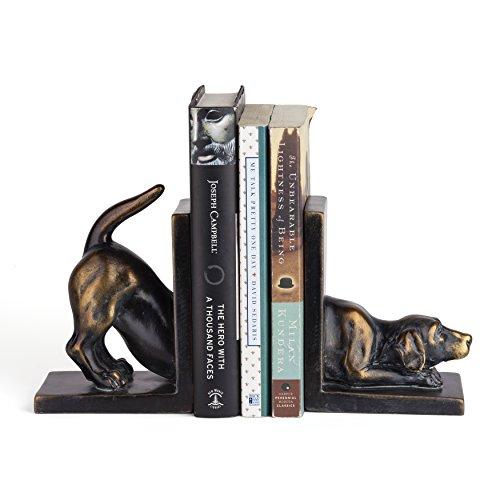 Danya B. DS782 Unique Decorative Animal Shelf Décor - Labrador Dog Bookend - Accessories Retriever Decorative Labrador
