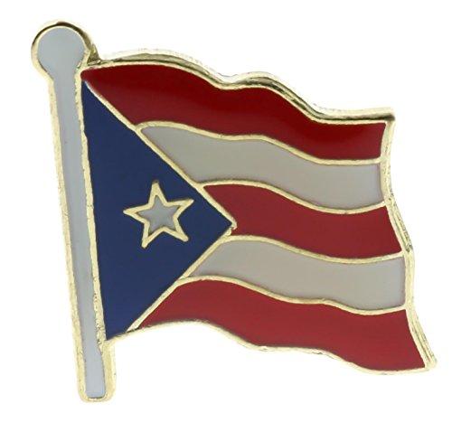 SMI Puerto Rico Flag Lapel or Hat Pin AK554