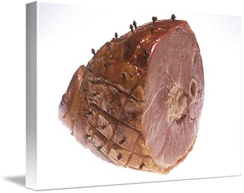 Imagekind Wall Art Print entitled Glazed Ham by Alleycatshirts @Zazzle | 24 x 16