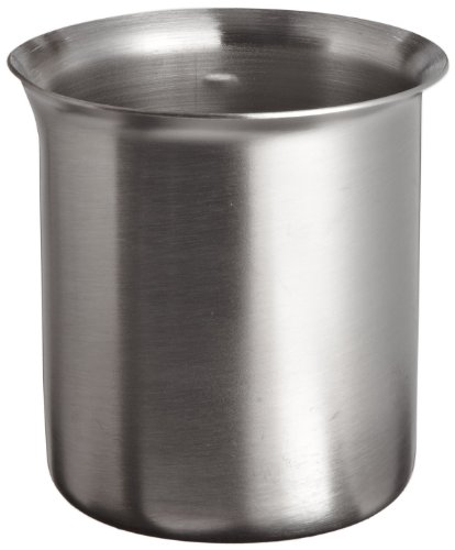 (Polar Ware 125B Stainless Steel Griffin Style Beaker, 125 mL Capacity, 2-1/8