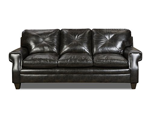 (Simmons Upholstery 8065-03 Lucky Marble Lucky Marble Lucky Marble Sofa, Charcoal)
