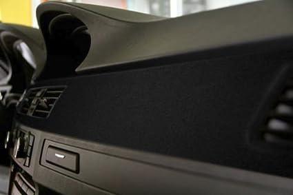 Black Felt Suede Car Furniture Wrap Vinyl Wrap Roll with VViViD XPO Air Release Technology 10ft x 4.43ft