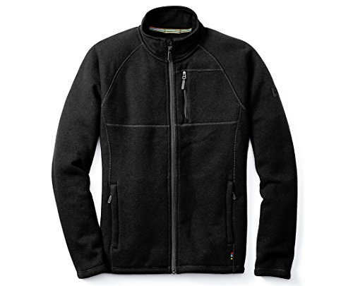 - SmartWool Men's Echo Lake Full Zip Top Charcoal Heather X-Large