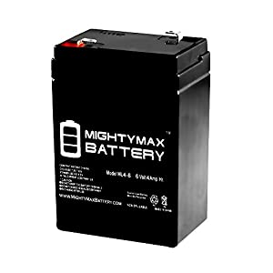 6V 4.5AH Battery For Best Choice Kids Ride On Motorcycle Model SKY1785 - Mighty Max Battery brand product