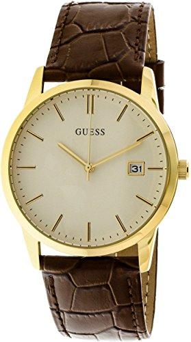 Guess-Mens-Camden-U0998G3-Brown-Leather-Quartz-Fashion-Watch