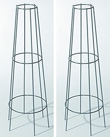 Rankgitter verzinkt bellissa Höhe 130cm Ranksäule