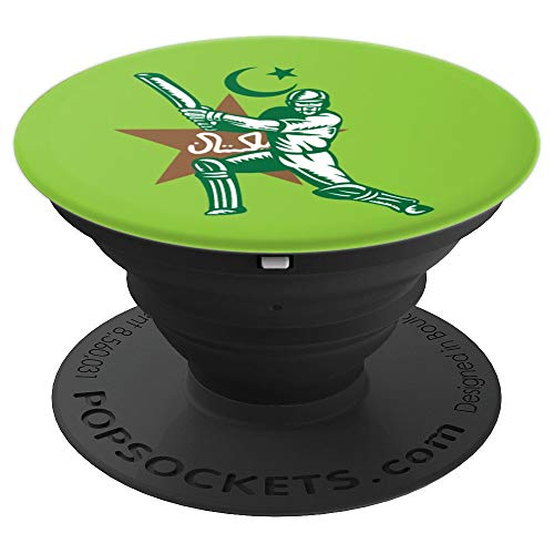 Pakistan Cricket Batsman Pop Socket - PopSockets Grip and Stand for Phones and -