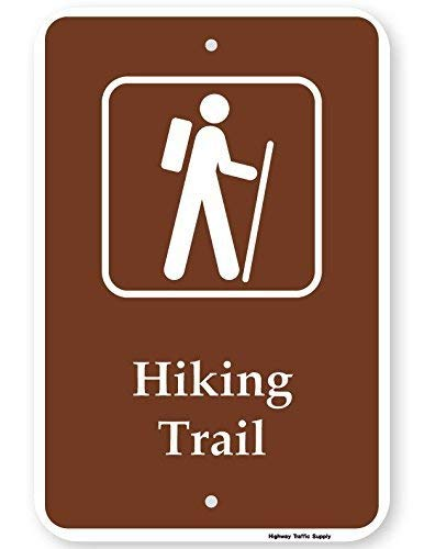 EHAKB Hiking Trail Sign with Symbol 8