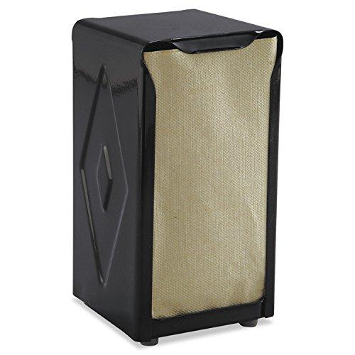 San Jamar Tabletop Napkin Dispenser, Tall Fold, 3-3/4 x 4 x