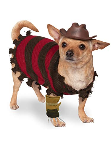 Rubie's A Nightmare on Elm Street Freddy Krueger Pet Costume, -