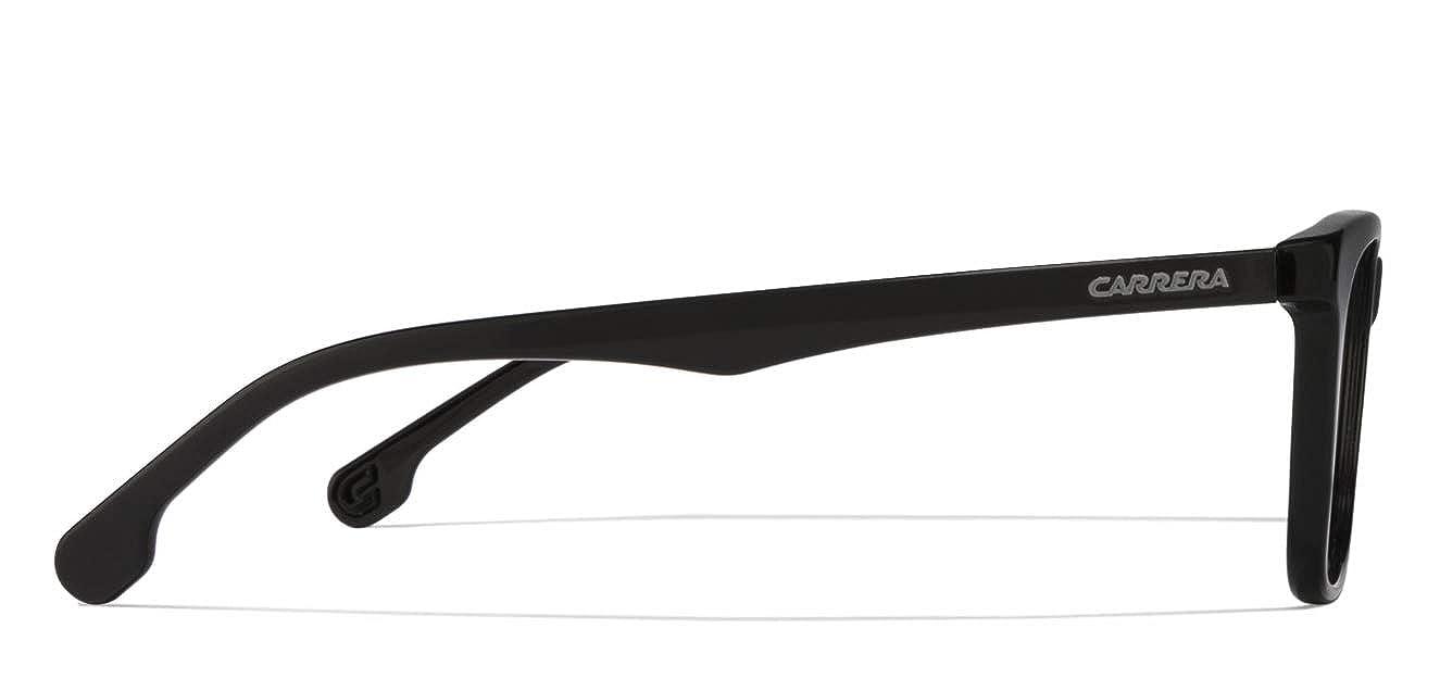 Carrera Plastic Rectangular Eyeglasses 55 0003 Matte Black