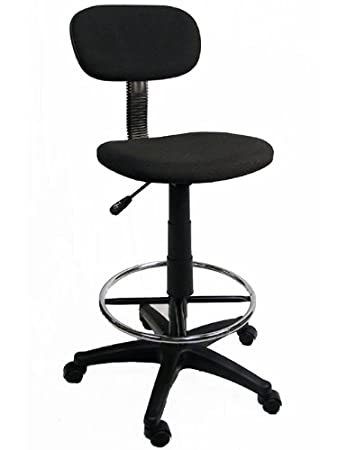 Elegant Office / Lab / Classroom Drafting Chair / Adjustable To 28.5u0026quot; / 360  Footrest U0026
