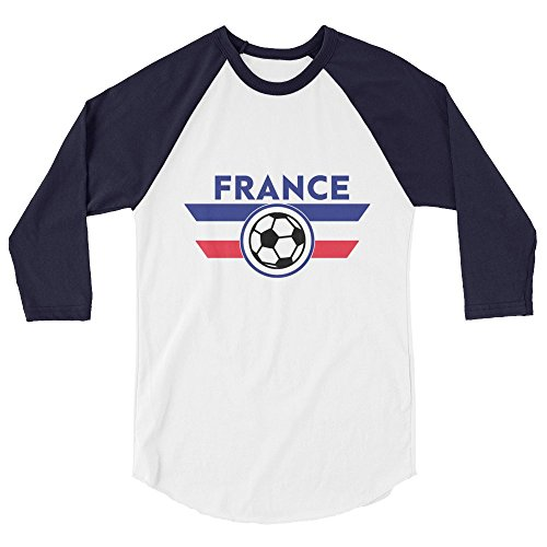 fan products of France Jersey Shirt Soccer World Football Cup (Large)