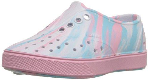 Native Miller Child - K, Jungen Sneaker Surfer Blue/Shell White/Marbled 31 EU Shell White/Princess Pink/Marbled