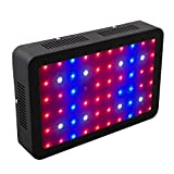WOLTU 600W LED Grow Light,60 LED Plant Lights with UV&IR for Indoor Plant Veg and Flower