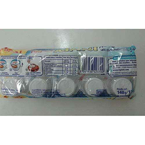 Régilait - Maxi Tazas De Leche Entera 140G - Nuage De Lait Entier Maxi Coupelles 140G - Precio Por Unidad - Entrega Rápida: Amazon.es: Alimentación y ...