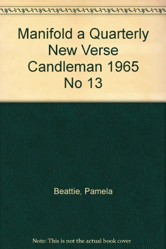 Manifold a Quarterly New Verse Candleman 1965 No 13