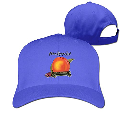 (The Allman Brothers Jam Band Band Plain Adjustable Cap Sun Hats Pattern Custom Fitted)