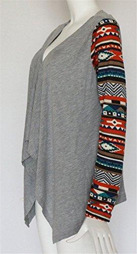 Pull Lache Femmes Asym Cardigan Loose Manche Trench Automne Veste Blazer Longue Veste Printemps YOGLY Revers Outlet Coat Chic Casual wgXaqFF