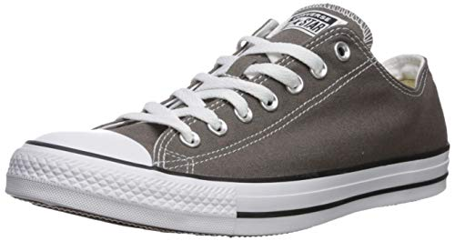 Converse Unisex Chuck Taylor All Star Low Top Sneakers -  Charcoal - 10.5 M US (Best Casual Shoes To Wear With Skinny Jeans)
