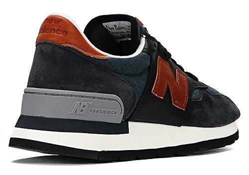 De 7 Tan M990 Hommes Chaussures Us Ardoise Course New D Balance M TR0nt