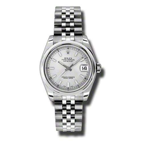 - Rolex Datejust Silver Dial Automatic Stainless Steel Ladies Watch 178240SSJ