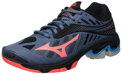 Zapatillas Wave Mizuno Fierycoral Z4 Multicolor para Blk Mujer 001 Bmirage Lightning ftRRrdwxqZ