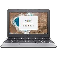 Notebook HP Chromebook Intel® Celeron® N3060 RAM 4GB eMMC 16GB Tela 11.6'' 11-V010NR Preto
