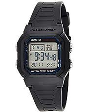 Casio W-800H-1AV Black Dual Time Unisex Digital Sports Watch