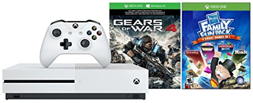 Xbox One S 1TB Console Gears of War 4 Edition + Extra ""
