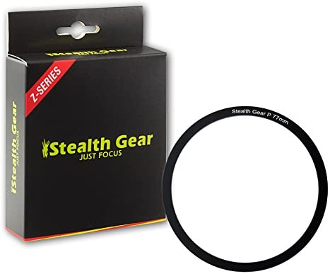 Stealth Gear SGWRR77 77 mm Wide Range Pro Filter Adapter Ring