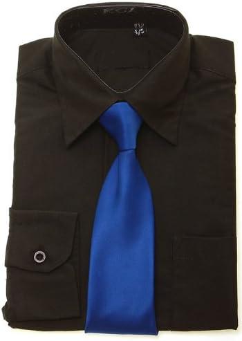 Camiseta Royal corbata azul para niño negro: Amazon.es: Ropa ...