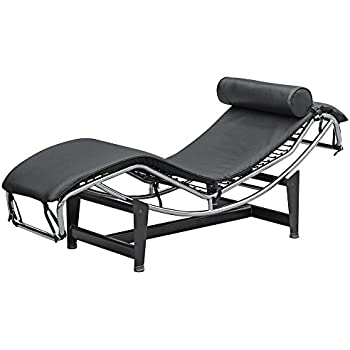 le corbusier lc 4 style replica chaise lounge. Black Bedroom Furniture Sets. Home Design Ideas