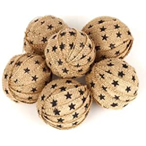 Sensational Amazon Com The Country House Collection Large Homespun Rag Ball S Largest Home Design Picture Inspirations Pitcheantrous