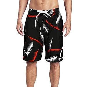 Beach Wear Pantaloncini da Bagno da Uomo Pantaloncini da Surf da Mare ad Asciugatura Rapida Shorts da Surf con Coulisse… 7 spesavip