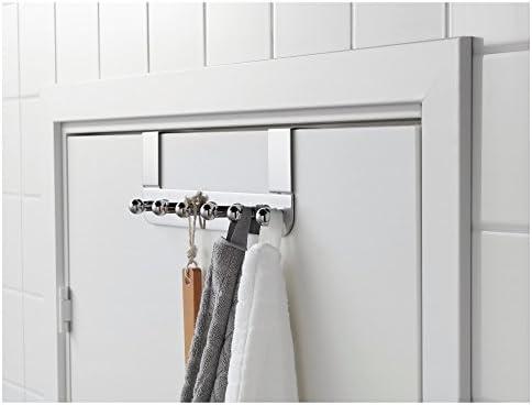 IKEA VOXNAN Perchero para Puerta, Acero Inoxidable: Amazon.es: Hogar