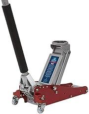 Sealey RJAS1500 Trolley Jack Aluminium/Staal Raket Lift, 1.5Tonne