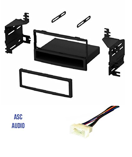 ASC Audio Car Stereo Radio Dash Kit and Wire Harness for installing a Single Din Radio for select Hyundai Kia Vehicles - Vehicles Listed Below