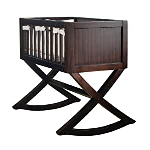 Green Frog Art Rocking Baby Cradle, Allegro (Discontinued by Manufacturer)