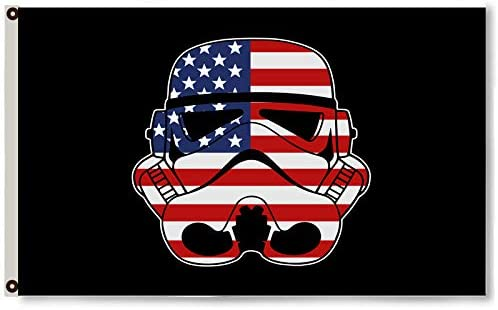 Storm Trooper Darth Vader Flag Banner 3X5Feet Man Cave US shipper