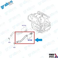 1.6 TDCI 2S6H18K359DC HEATER HOSE PIPE FOR FORD FIESTA V FUSION 1.4 TDCI